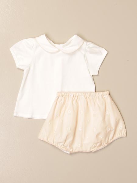 Chloé: Chloé polo shirt + culottes set