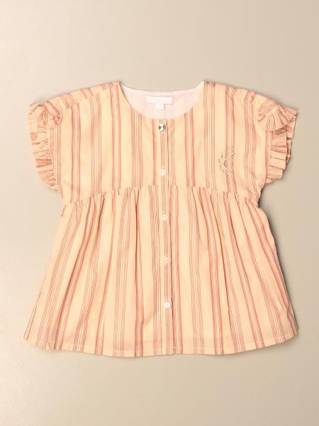 Chloé: Chloé striped crew neck shirt