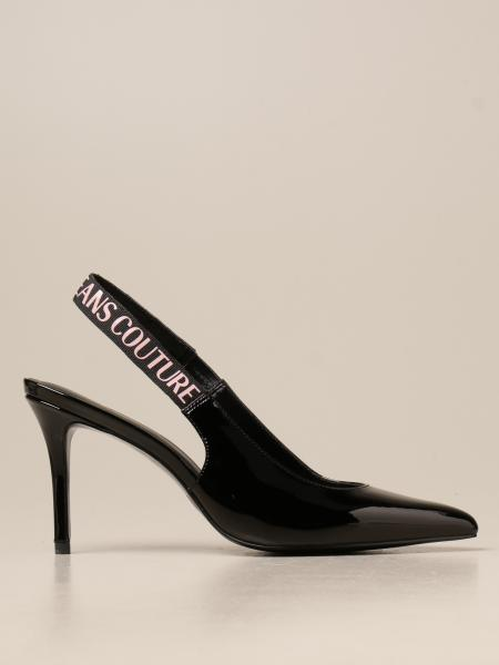 Versace Jeans Couture slingbacks in patent leather