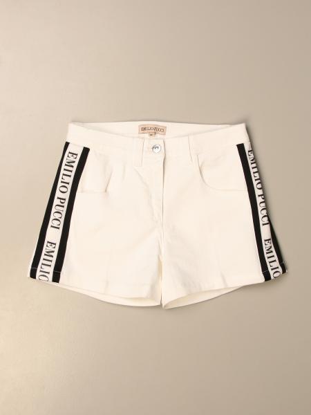 Emilio Pucci: Pantaloncino Emilio Pucci con bande logate