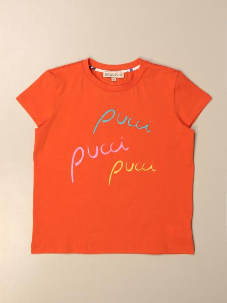 Emilio Pucci: T-shirt Emilio Pucci in cotone con logo