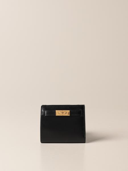 Tory Burch: Tory Burch wallet in smooth leather