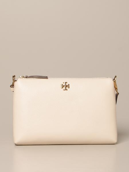 Tory Burch: Kira Pebbled Tory Burch crossbody bag in textured leather