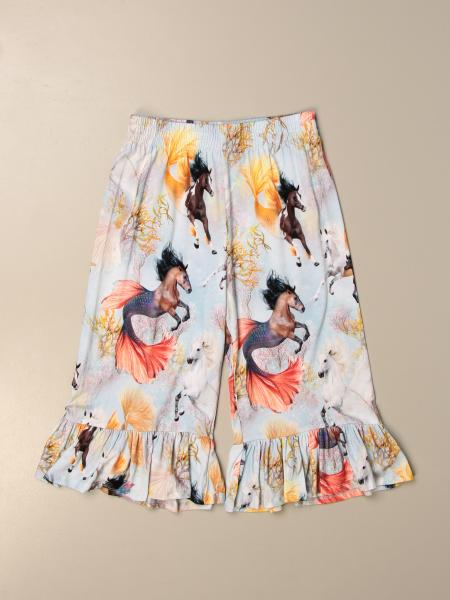 Pantalone ampio Molo a fantasia