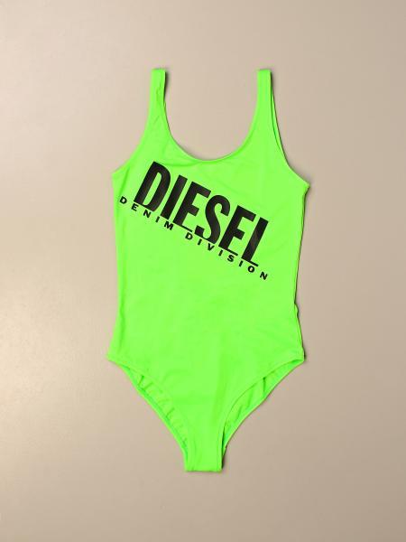 Costume intero Diesel stretch con big logo