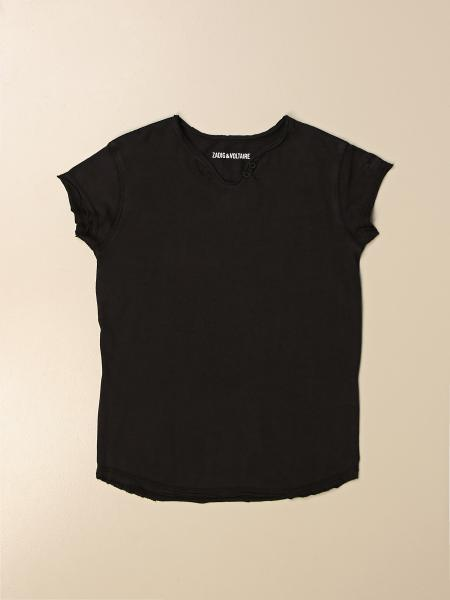 Zadig & Voltaire cotton T-shirt with back logo