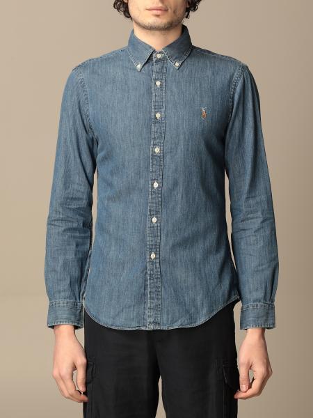 Polo Ralph Lauren denim shirt with logo