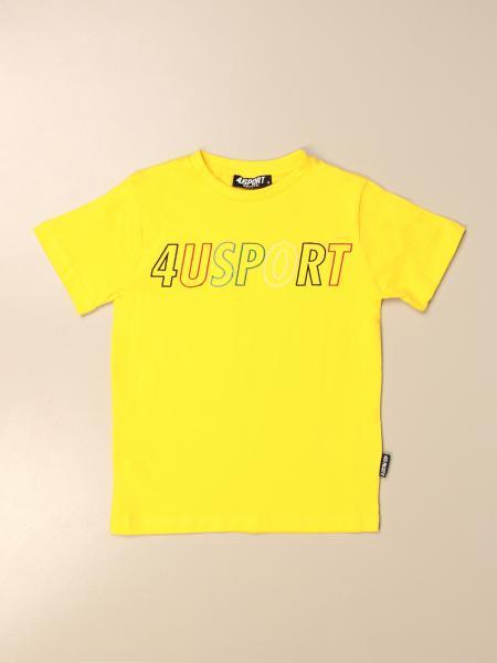 Paciotti 4Us: T-shirt Paciotti 4US in cotone con stampa
