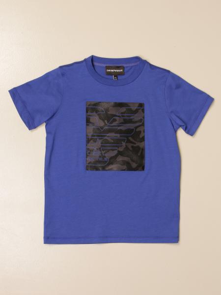T-shirt Emporio Armani con logo frontale