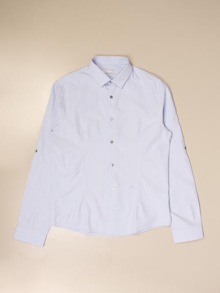 Camicia classica Daniele Alessandrini in cotone