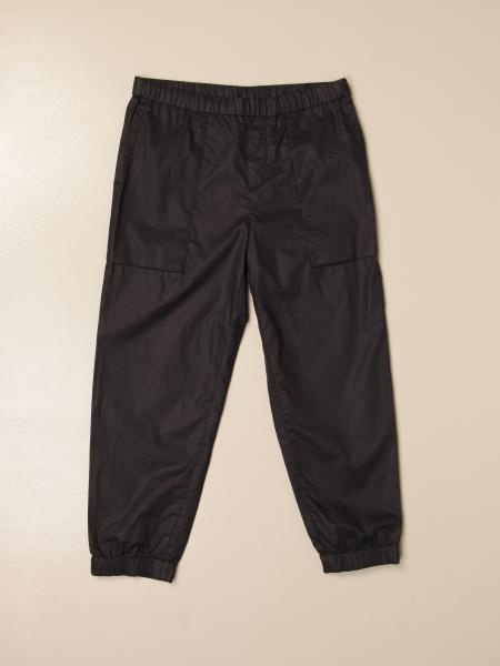 Pantalone jogging Emporio Armani in tessuto tecnico