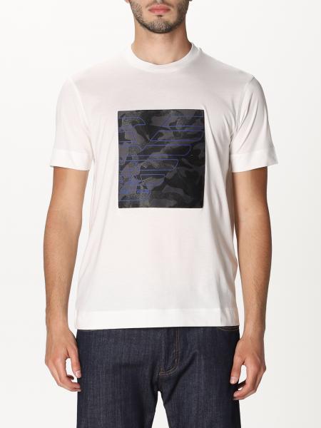 Emporio Armani: Emporio Armani t-shirt with big logo