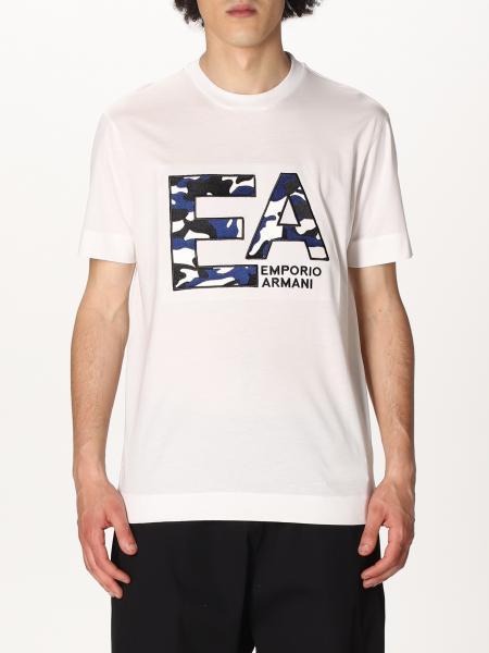 Emporio Armani: Emporio Armani T-shirt with logo