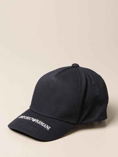 Emporio Armani baseball hat with logo