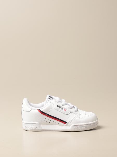 Sneakers Continental 80 Adidas Originals in pelle gommata