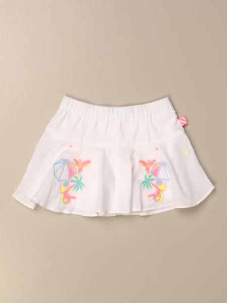 Billieblush: Billieblush wide skirt with embroidery