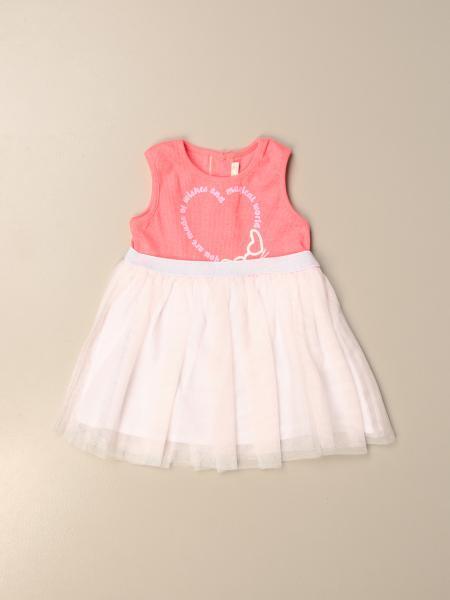 Billieblush: Short Billieblush dress with tulle skirt