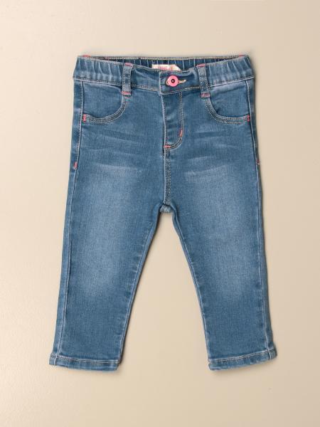 Billieblush: Billieblush jeans in washed denim