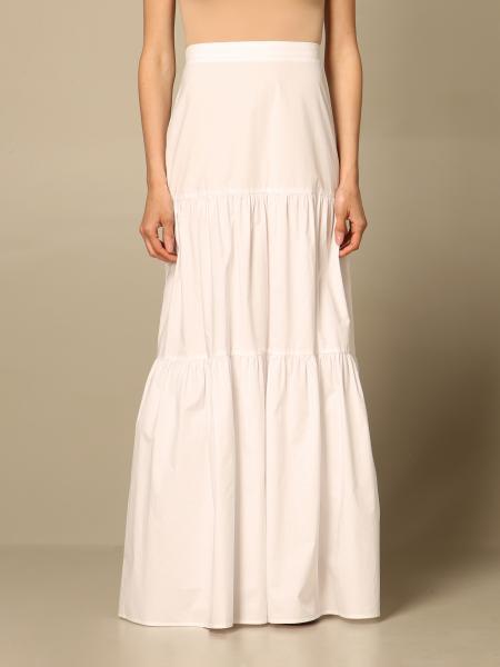 Pinko women: Pinko long wide skirt