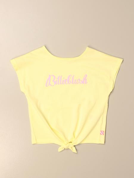 Billieblush: Billieblush cotton t-shirt with logo