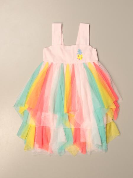 Billieblush: Short Billieblush dress in multicolor tulle