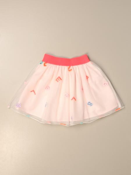 Billieblush: Billieblush wide skirt with all over lettering