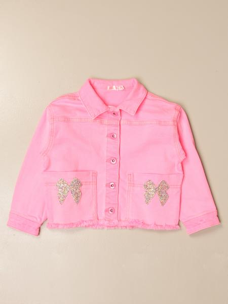Billieblush: Billieblush denim jacket with bows