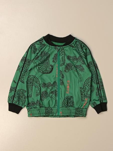 Mini Rodini patterned bomber jacket