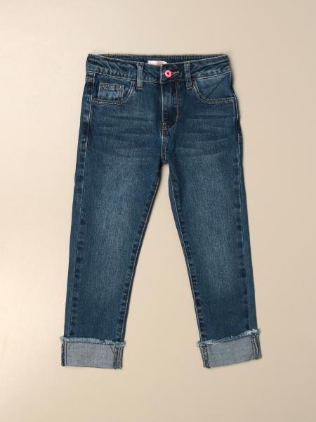 Billieblush: Billieblush 5-pocket jeans with logo