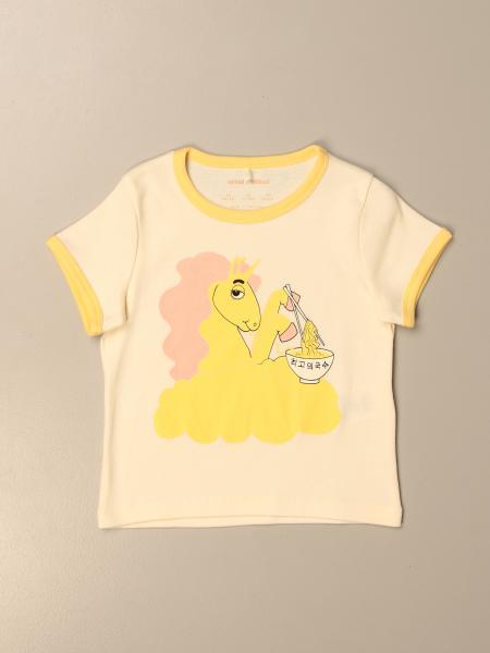 T-shirt Mini Rodini con stampa