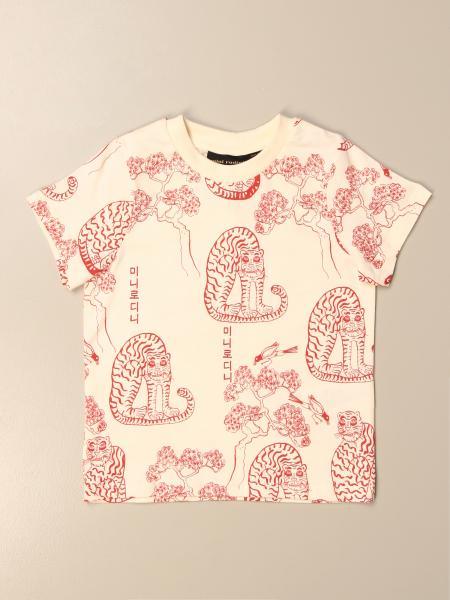 T-shirt Mini Rodini in cotone a fantasia