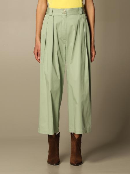 Etro women: Wide Etro trousers in cotton