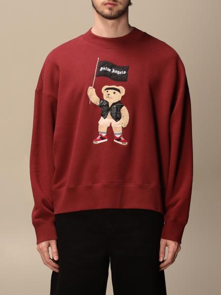 Palm Angels crewneck sweatshirt with maxi bear