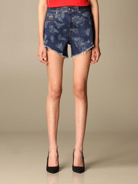 Shorts damen Versace Jeans Couture