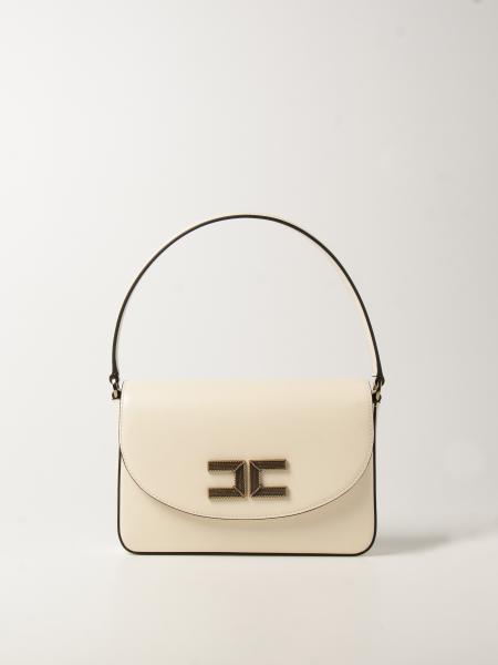 Elisabetta Franchi women: Elisabetta Franchi crossbody bag with logo