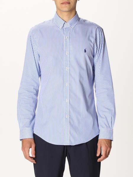 Camicia Polo Ralph Lauren in cotone a righe