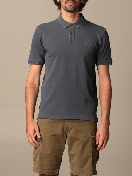 Woolrich cotton piqué polo shirt with logo