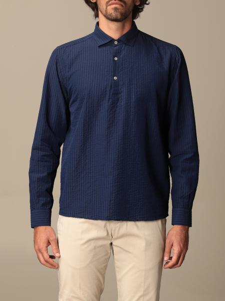 Brooksfield basic shirt with micro stripes