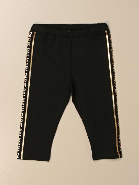 Balmain leggings with logoed bands