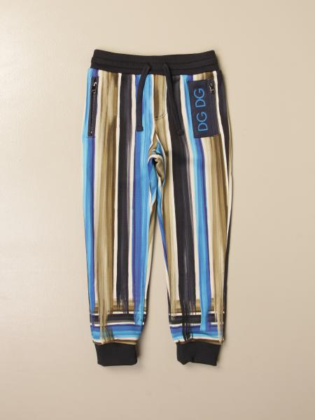 Dolce & Gabbana jogging trousers in printed cotton