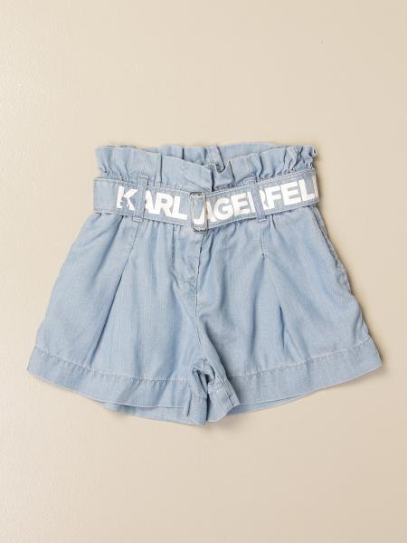 Брюки Детское Karl Lagerfeld Kids