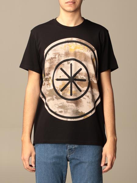 Manuel Ritz cotton t-shirt with big print