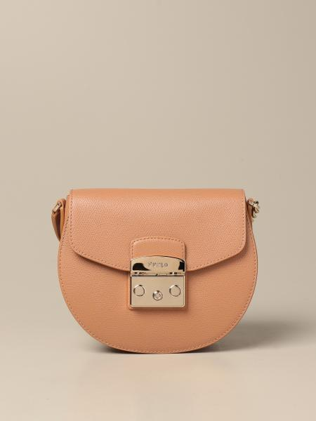 Furla: Metropolis Furla bag in grained leather