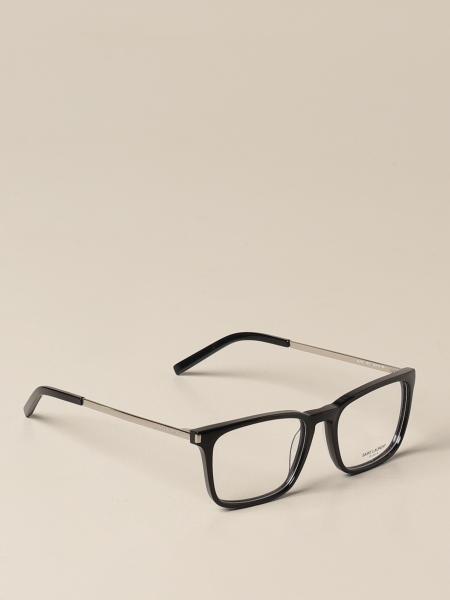 Saint Laurent men: Saint Laurent eyeglasses in acetate and metal