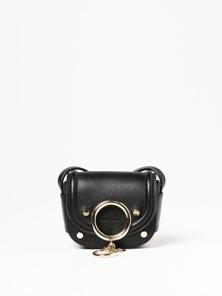 See By Chloé: Borsa a tracolla micro See By Chloé in pelle