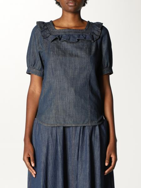 See By Chloé: Top See By Chloé in cotone
