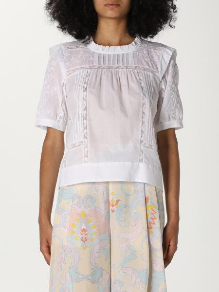 See By Chloé: Top See By Chloé in misto cotone