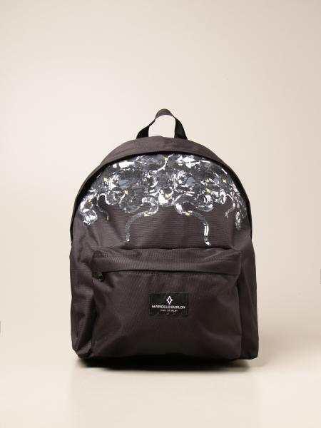 Marcelo Burlon backpack in printed canvas