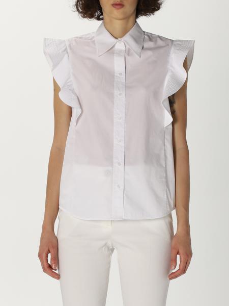 Pinko women: Pinko shirt with ruffles