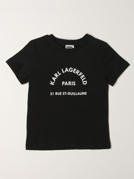 Karl Lagerfeld: Karl Lagerfeld Kids logo t-shirt